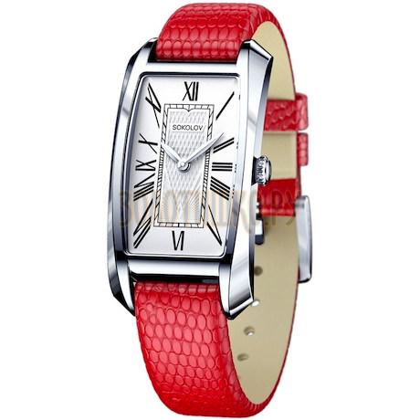 Женские серебряные часы 120.30.00.000.01.03.2