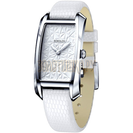 Женские серебряные часы 120.30.00.000.03.02.2