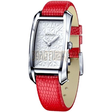 Женские серебряные часы 120.30.00.000.03.03.2