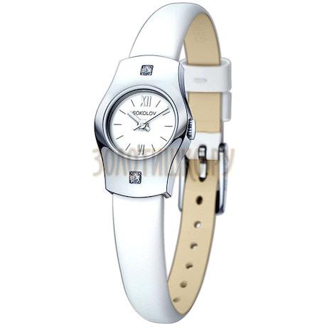 Женские серебряные часы 123.30.00.001.01.02.2