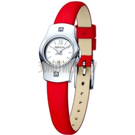 Женские серебряные часы 123.30.00.001.01.03.2
