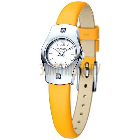 Женские серебряные часы 123.30.00.001.01.04.2