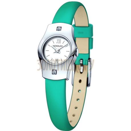 Женские серебряные часы 123.30.00.001.01.07.2