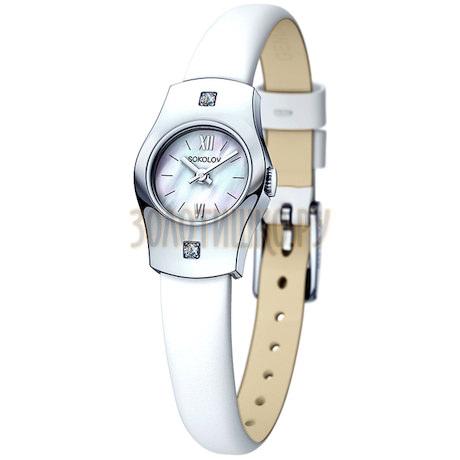 Женские серебряные часы 123.30.00.001.02.02.2