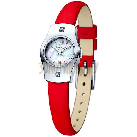 Женские серебряные часы 123.30.00.001.02.03.2