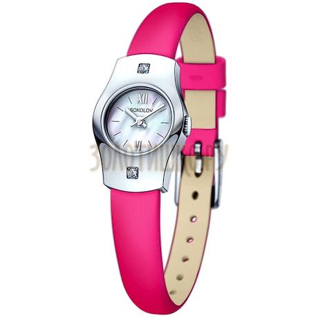 Женские серебряные часы 123.30.00.001.02.05.2