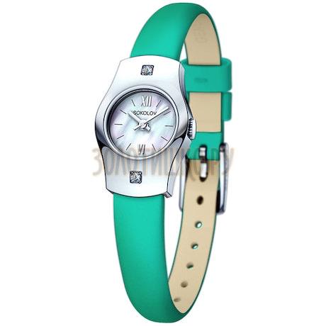 Женские серебряные часы 123.30.00.001.02.07.2