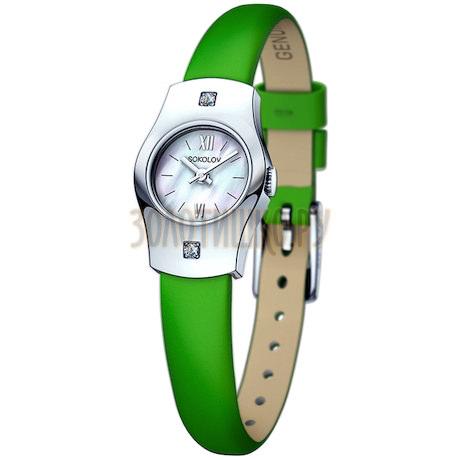 Женские серебряные часы 123.30.00.001.02.08.2