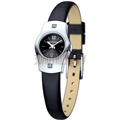 Женские серебряные часы 123.30.00.001.03.01.2
