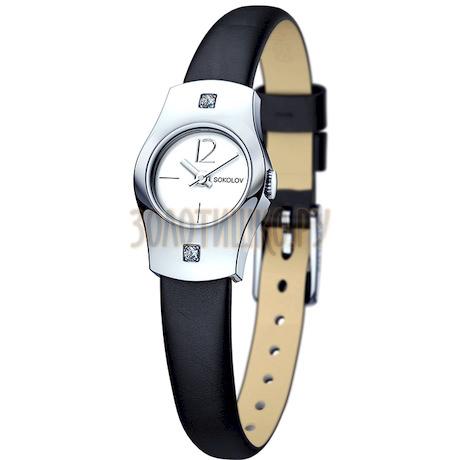 Женские серебряные часы 123.30.00.001.04.01.2