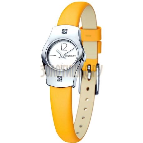 Женские серебряные часы 123.30.00.001.04.04.2