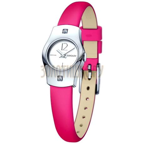Женские серебряные часы 123.30.00.001.04.05.2