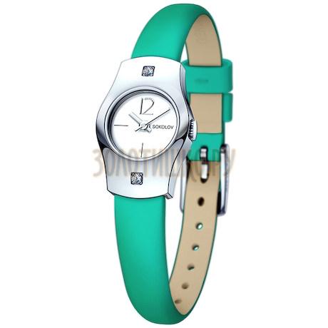 Женские серебряные часы 123.30.00.001.04.07.2