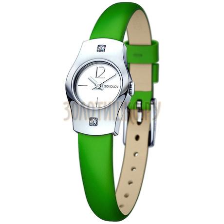 Женские серебряные часы 123.30.00.001.04.08.2