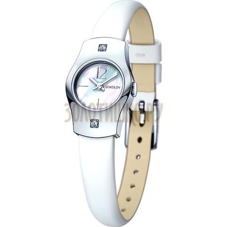 Женские серебряные часы 123.30.00.001.05.02.2