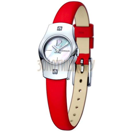 Женские серебряные часы 123.30.00.001.05.03.2