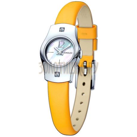 Женские серебряные часы 123.30.00.001.05.04.2