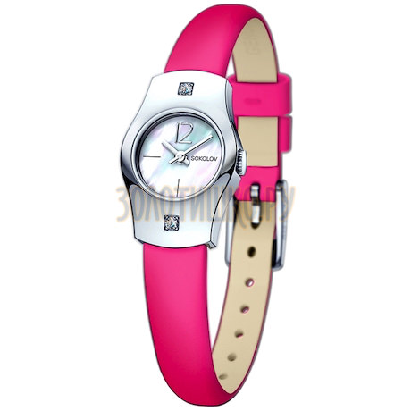 Женские серебряные часы 123.30.00.001.05.05.2