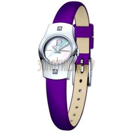 Женские серебряные часы 123.30.00.001.05.06.2