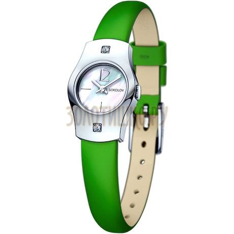 Женские серебряные часы 123.30.00.001.05.08.2