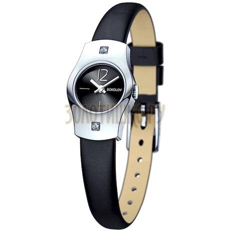 Женские серебряные часы 123.30.00.001.06.01.2