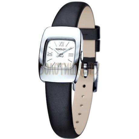 Женские серебряные часы 124.30.00.000.01.01.2