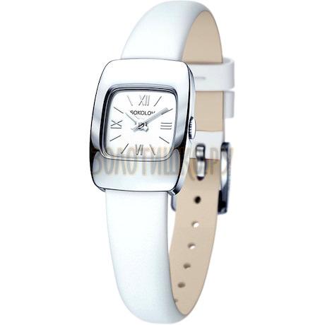 Женские серебряные часы 124.30.00.000.01.02.2