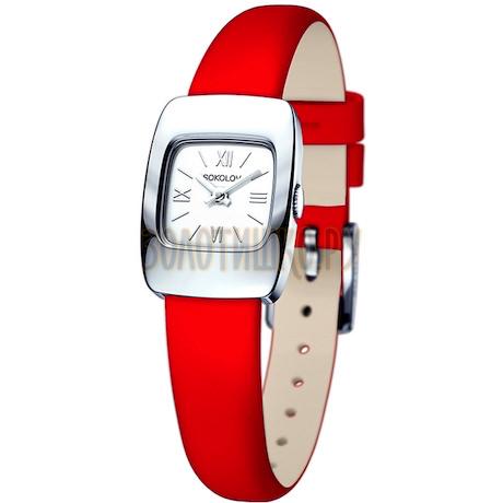 Женские серебряные часы 124.30.00.000.01.03.2