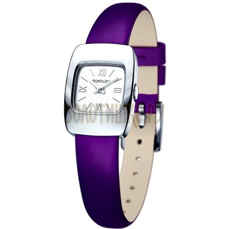 Женские серебряные часы 124.30.00.000.01.06.2