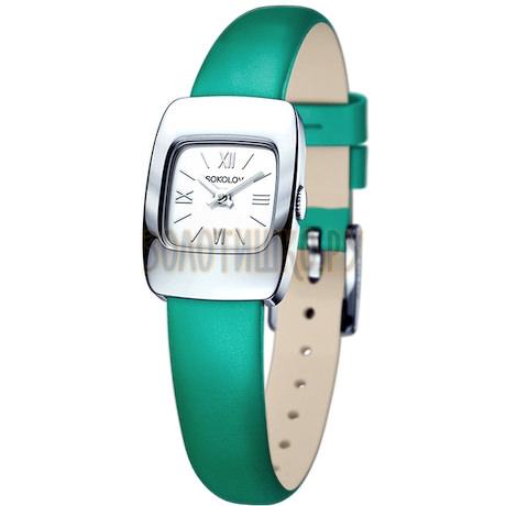Женские серебряные часы 124.30.00.000.01.07.2