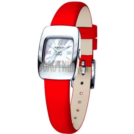 Женские серебряные часы 124.30.00.000.02.03.2