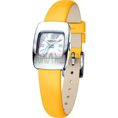 Женские серебряные часы 124.30.00.000.02.04.2