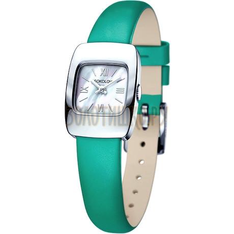 Женские серебряные часы 124.30.00.000.02.07.2