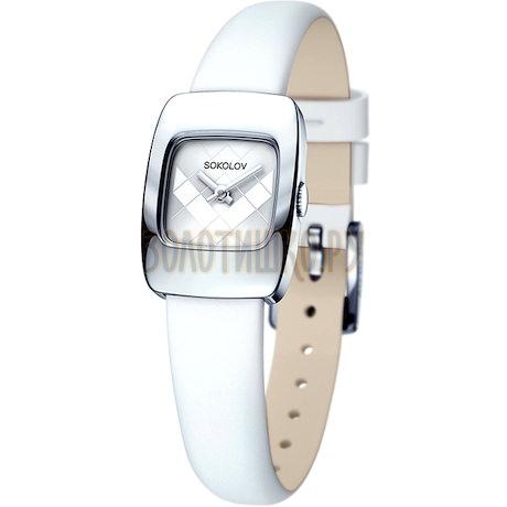 Женские серебряные часы 124.30.00.000.04.02.2
