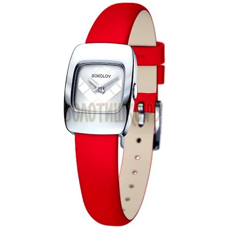 Женские серебряные часы 124.30.00.000.04.03.2