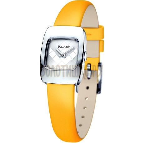 Женские серебряные часы 124.30.00.000.04.04.2
