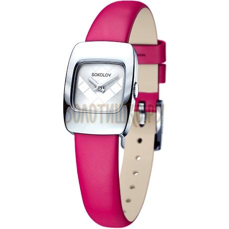 Женские серебряные часы 124.30.00.000.04.05.2