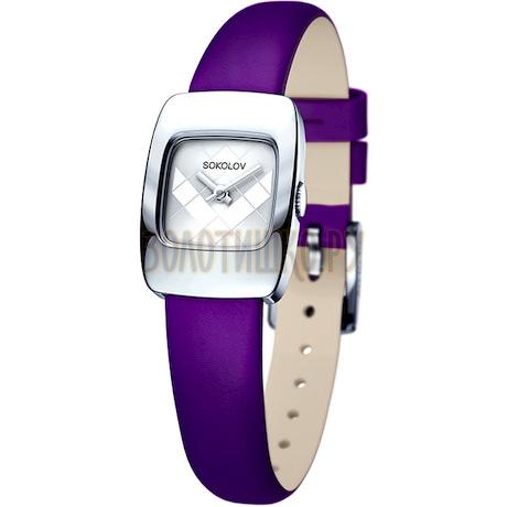 Женские серебряные часы 124.30.00.000.04.06.2