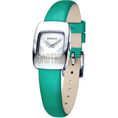 Женские серебряные часы 124.30.00.000.04.07.2