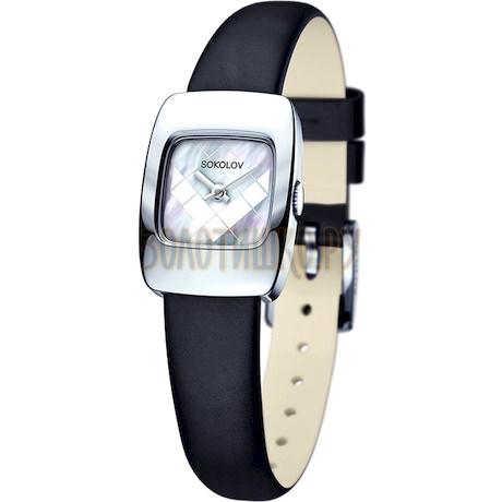 Женские серебряные часы 124.30.00.000.05.01.2