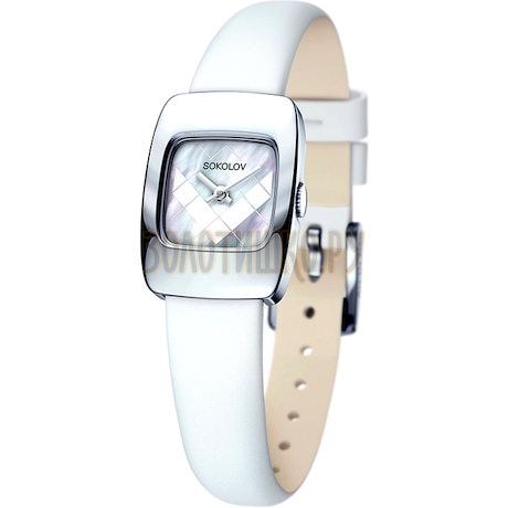 Женские серебряные часы 124.30.00.000.05.02.2