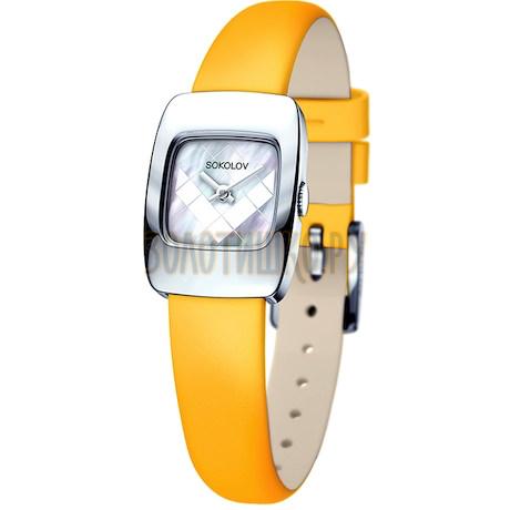 Женские серебряные часы 124.30.00.000.05.04.2
