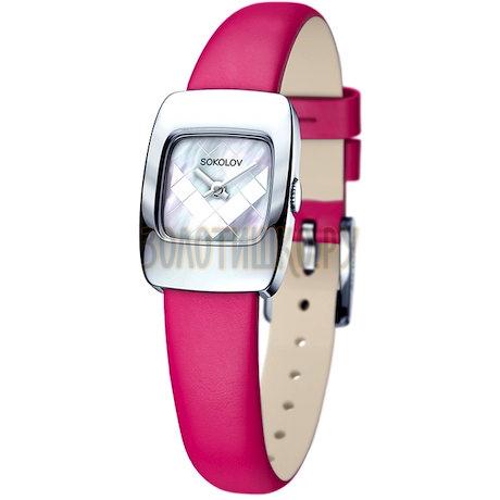 Женские серебряные часы 124.30.00.000.05.05.2