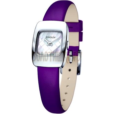 Женские серебряные часы 124.30.00.000.05.06.2