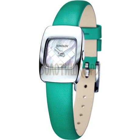 Женские серебряные часы 124.30.00.000.05.07.2