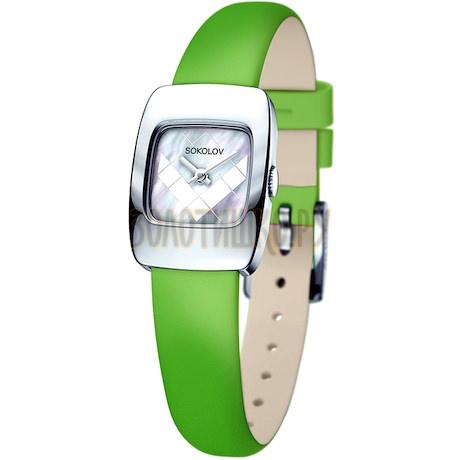 Женские серебряные часы 124.30.00.000.05.08.2