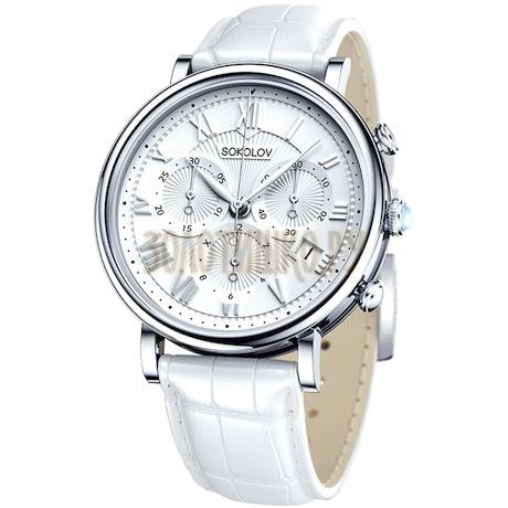 Женские серебряные часы 126.30.00.000.01.02.2
