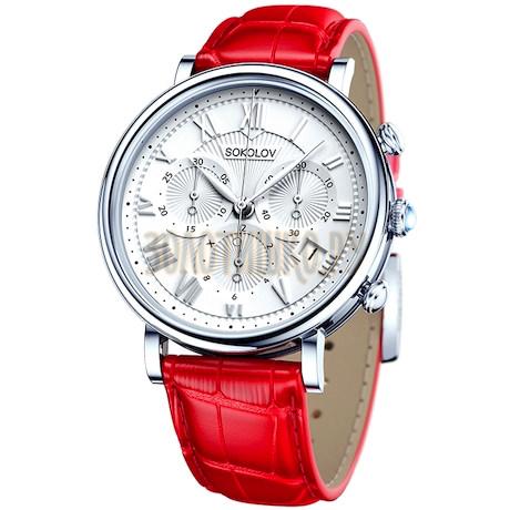 Женские серебряные часы 126.30.00.000.01.03.2