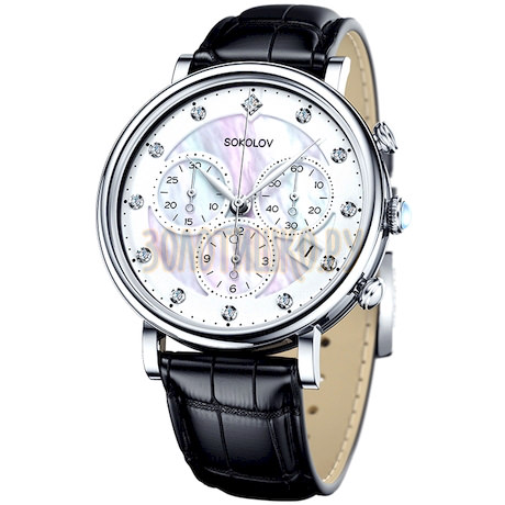 Женские серебряные часы 126.30.00.000.03.01.2