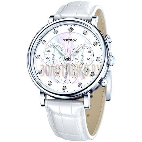 Женские серебряные часы 126.30.00.000.03.02.2